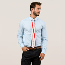 Candy Cane Stripes Neck Tie