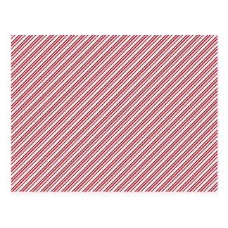 Candy Cane Stripes Postcard