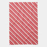 Candy Cane Stripes Towels