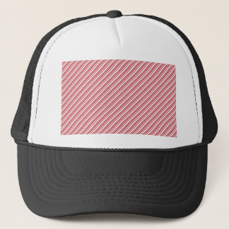 Candy Cane Stripes Trucker Hat