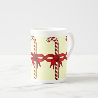 Candy Cane Tea Cup
