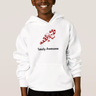 Candy Cane Totally Awesome Hoodie