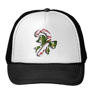 Candy Cane Trucker Hat