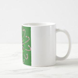 Candy Cane Weave Coffee Mug