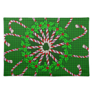Candy Cane Weave Placemat
