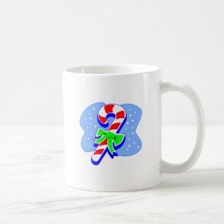 Candy Cane with green bow Coffee Mug