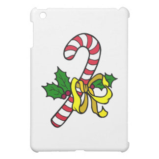 Candy Cane with yellow bow iPad Mini Case