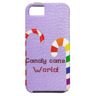 Candy cane world iPhone SE/5/5s case