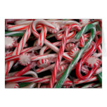 Candy Canes and Peppermints Christmas Holiday Card