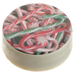 Candy Canes and Peppermints Christmas Holiday Chocolate Covered Oreo