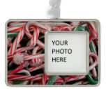 Candy Canes and Peppermints Christmas Holiday Christmas Ornament