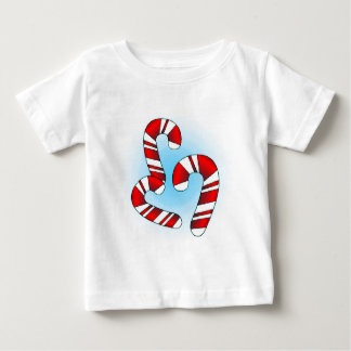 Candy Canes Baby T-Shirt