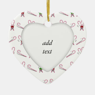 Candy Canes Background Christmas Ornaments