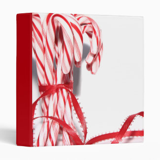 Candy Canes Binder