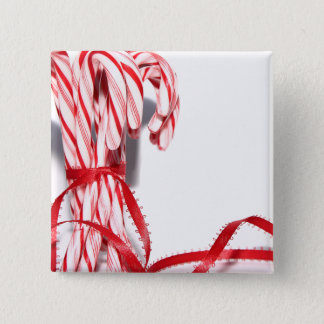 Candy Canes Button