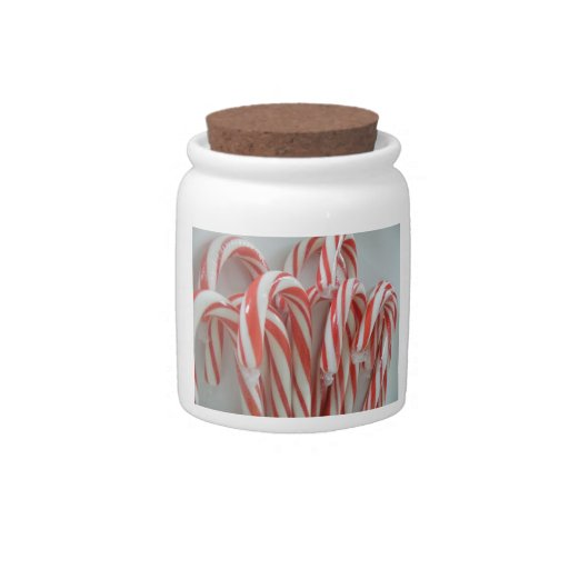Candy Canes Candy Jars