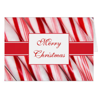 Candy Canes Card