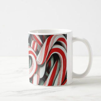 Candy canes coffee mug
