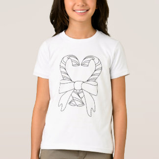 Candy Canes Coloring Shirt