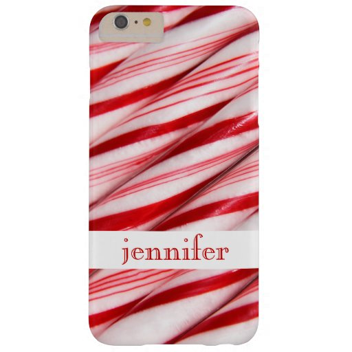 Candy Canes Custom iPhone 6 Plus Case