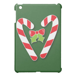 Candy Canes for Christmas iPad Mini Cases