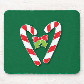 Candy Canes for Christmas Mouse Pad
