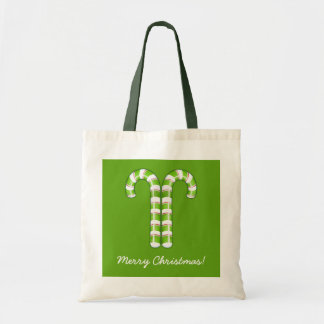 Candy Canes green Bag