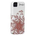 Candy Canes iPhone 4/4S Case-Mate Case