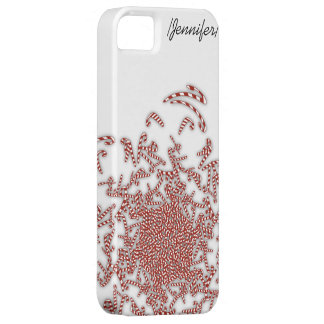 Candy Canes iPhone 5 Case-Mate Case
