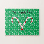 Candy canes jigsaw puzzle