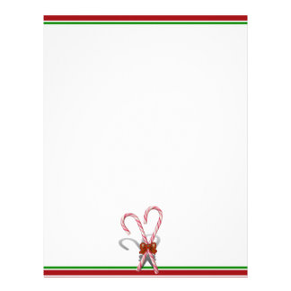 Candy Canes Letterhead