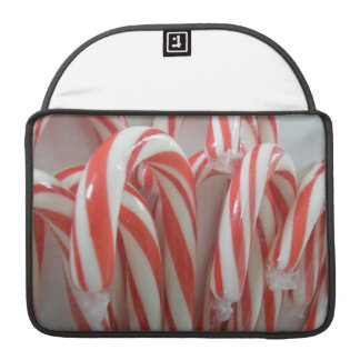 Candy Canes Sleeve For MacBook Pro