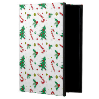 Candy Canes, Mistletoe, and Christmas Trees Case For iPad Air