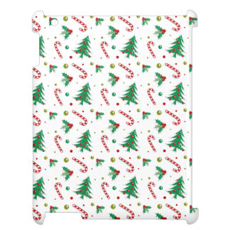 Candy Canes, Mistletoe, and Christmas Trees Cover For The iPad 2 3 4