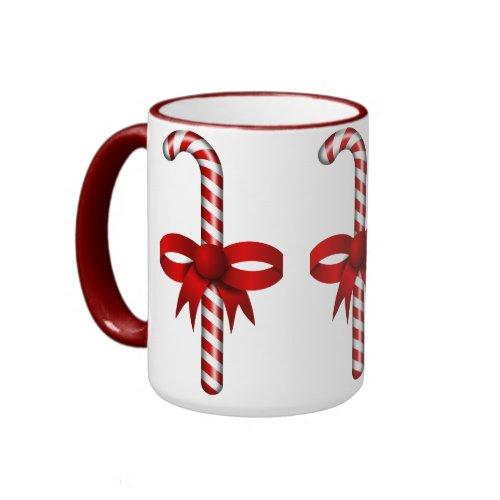 Candy Canes Mug mug