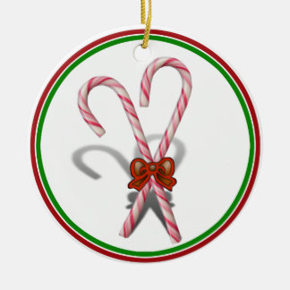 Candy Canes Christmas Ornaments