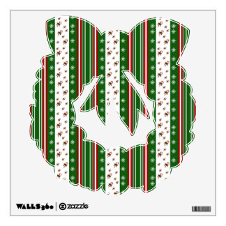 peppermint candy wall decals wall stickers zazzle