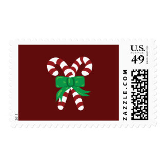 Candy Canes Postage