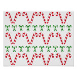 Candy Canes Poster/Print Posters