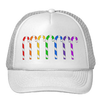 Candy Canes - Rainbow Of Flavors Trucker Hat