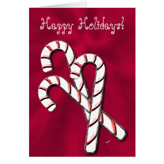 Candy Canes, Red Card
