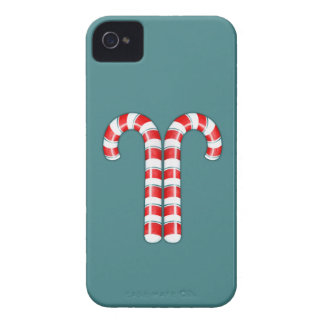 Candy Canes red iPhone 4 Case