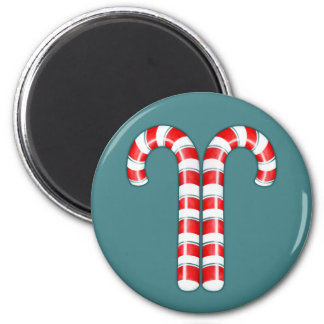 Candy Canes red Magnet