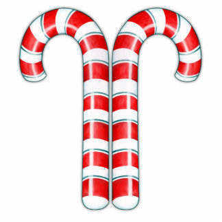 Candy Canes red Sculpture
