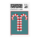 Candy Canes red Stamp