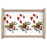 Candy Canes Serving Tray