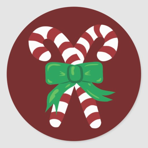 Candy Canes Sticker