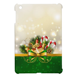 Candy canes with bow cover for the iPad mini