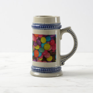 Candy cased choclate buttons Texture Template Beer Stein