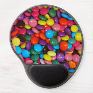 Candy cased choclate buttons Texture Template Gel Mouse Pad